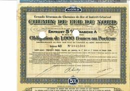 59-CHEMIN DE FER DU NORD. Oblig 1932 De 1 000 F - Shareholdings