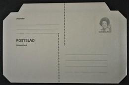 Postblad Binnenland Met 55 C Koningin Beatrix Ongebruikt - Postal Stationery