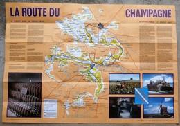 Carte Guide LA ROUTE DU CHAMPAGNE - Roadmaps