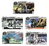 1971 - Ras Al Khaima 64 + PA 71 Apollo XIV - Space