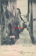 Ad287 - Siena - Via Della Fonte-1902 - Siena