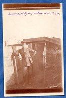 Carte Photo -- Soldat Allemand -- - War 1914-18
