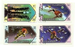 1971 - Ras Al Khaima 73 + PA 82 Soyuz II - Space