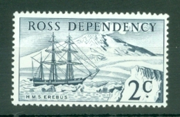 Ross Dependency: 1967   Pictorials - Decimal Currency    SG5   2c   Indigo     MNH - Unused Stamps