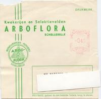 Wikkel - Omslag Enveloppe - Arboflora Schellebelle - Stamped Stationery