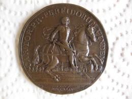 Autriche Médaille Charles-Alexandre De Lorraine, La Prise De Prague, 1744 - Jetons & Médailles