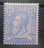 BELGIE  1884     Nr. 48    Postfris **  CW 60,00 - 1884-1891 Leopold II
