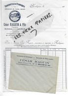 25 - Doubs - ROCHEJEAN - Facture RAGUIN - Commerce De Fromages - 193? - REF 90A - 1900 – 1949