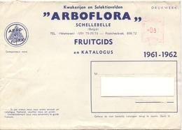 Wikkel - Omslag Enveloppe - Pub Reclame Arboflora Schellebelle - 1961 - 1962 - Stamped Stationery