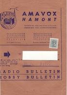 Wikkel - Omslag Enveloppe - Pub Reclame Radiotechniek Amavox Hamont - 1962 1963 - 30 C - Stamped Stationery