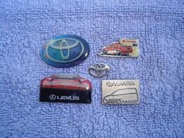 5 Toyota Pins - Toyota