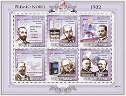 GUINEA BISSAU 2009 - T. Mommsen, Nobel Prize - YT 2948-53 - Ecrivains