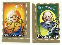 1984 - Corea Del Nord 1781HA Esplorazione Spaziale - Space