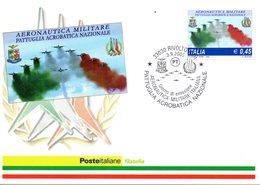 ITALIA 2005 FRECCE TRICOLORI FIRST DAY CARD - 6. 1946-.. República