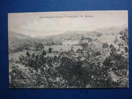 GOVERNMENT HOUSE PLANTATION  SAINTE HELENA   VOYAGEE 1910 - Sainte-Hélène