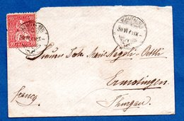 Suisse  -Enveloppe De Schaffhausen  --  30/6/1871 - Covers & Documents