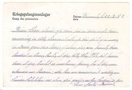 Cp Entier Postal, Correspondance Militaire, Stalag 18, Camp De Prisonniers, Adressée à Vaivre   ( PHI ) - Marcophilie (Lettres)