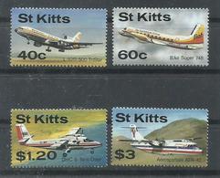 ST KITTS   YVERT  637/40  MNH  ** - St.Kitts And Nevis ( 1983-...)