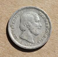 Monnaie Argent Pays-Bas - Hollande - NEDERLAND Argent 640‰ 5 Cents 1850 Willem III - [ 3] 1815-… : Kingdom Of The Netherlands