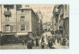 EPINAL : La Rue Léopold Bourg, Aux Deux Négres. TBE. 2 Scans. Edition Bouteiller - Epinal