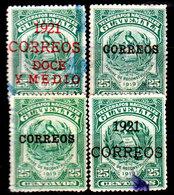 Guatemala-0079 - Emissione 1920-21 (o) Used - - Guatemala