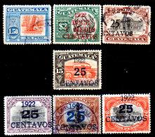 Guatemala-0081 - Emissione 1921-22 (+/o) LH/Used - - Guatemala