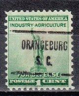 USA Precancel Vorausentwertung Preo, Locals South Carolina, Orangeburg 723 - Vereinigte Staaten