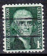 USA Precancel Vorausentwertung Preo, Locals South Carolina, Pamlico 841 - United States