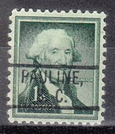 USA Precancel Vorausentwertung Preo, Locals South Carolina, Pauline 802 - Vereinigte Staaten