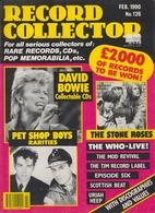 REVUE ANGLAISE RECORD COLLECTOR N° 126  De 1990  : DAVID BOWIE   ETC ........... - Objets Dérivés