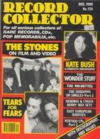 REVUE ANGLAISE RECORD COLLECTOR N° 124  De 1989  : THE STONES   ETC ........... - Objets Dérivés