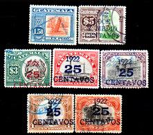Guatemala-0082 - Emissione 1921-22 (+/o) Hinged/Used - - Guatemala