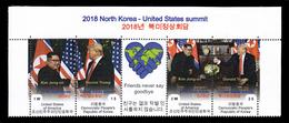 2018 North Korea–United States Summit - LABEL - Vignettes De Fantaisie