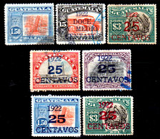 Guatemala-0083 - Emissione 1921-22 (+/o) Hinged/Used - - Guatemala