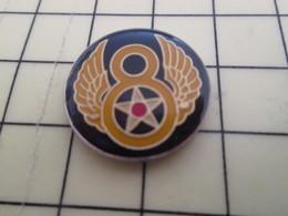 1016c Pin's Pins / Beau Et Rare : Thème MILITARIA / SYMBOLE 8th AIR FORCE USA 39/45 - Army