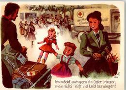 52174397 - Kinderfuersorge Hilfspakete Kind Puppe - Aktion Fuer Das Weisstannental - Rotes Kreuz