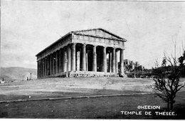 CPA TEMPLE DE THESEE - Grecia