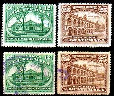 Guatemala-0084 - Emissione 1922-23 (+/o) Hinged/Used - - Guatemala