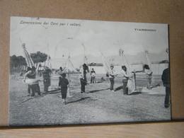 MONDOSORPRESA, VIAREGGIO, LAVORAZIONE DEI CAVI PER I VELIERI,  ANIMATA 1909 - Viareggio