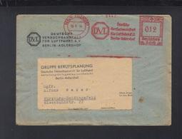 Dt. Reich Brief 1944 Versuchsanstalt Für Luftfahrt E.V. Berlin Adlerhorst - Germany