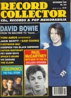 REVUE ANGLAISE RECORD COLLECTOR N° 243  De 1999 :  DAVID BOWIE    ETC ........... - Objets Dérivés