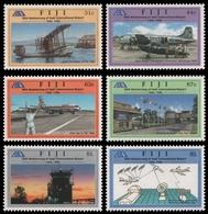 Fidschi 1996 - Mi-Nr. 785-790 ** - MNH - Flugzeuge / Airplanes - Fidji (1970-...)