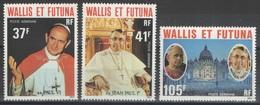Wallis-et-Futuna - YT PA 86-88 ** - 1979 - Papes - Airmail