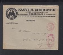 Dt. Reich Brief 1925 Dresden Freistempel - Deutschland