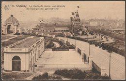 Vue Générale, Le Champ De Course, Ostende, Flandre-Occidentale, 1927 - Tempère-Albert CPA - Oostende