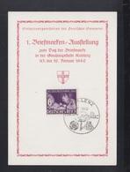 Dt. Reich PK Tag Der Briefmarke Koblenz 1942 - Deutschland