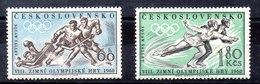 Serie De Checoslovaquia N ºYvert 1066/67 (**) - Tschechoslowakei/CSSR