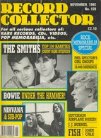 REVUE ANGLAISE RECORD COLLECTOR N° 159  De 1992  : THE SMITHS    ETC ........... - Objets Dérivés