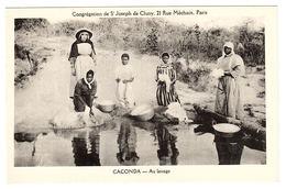 CACONDA - Au Lavage - Congrégation De St Joseph De Cluny, Paris - Angola