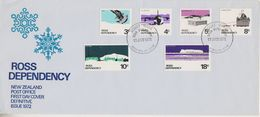 Ros Dependency 1972 Definitives 6v FDC (F7185) - FDC